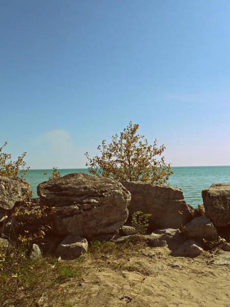 Photograph - Serine Shores by Cyryn Fyrcyd