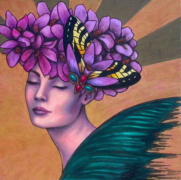 Wall Art - Painting - Serinity Of Mind by Helena Rose