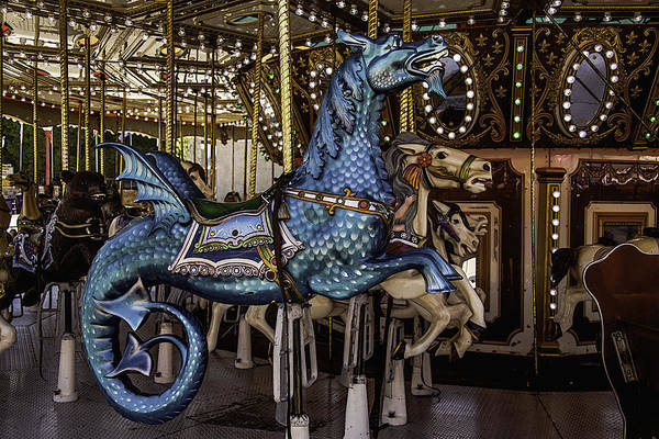 Serpent Photograph - Serpent Carrosul Ride by Garry Gay