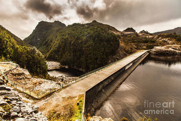 Dam Wall Art - Photograph - Serpentine River Crossing by Jorgo Photography - Wall Art Gallery