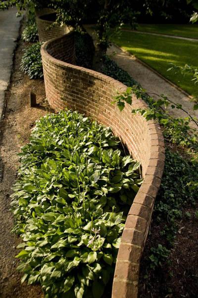 Wall Art - Photograph - Serpentine Walls As First Designed by Stephen St. John