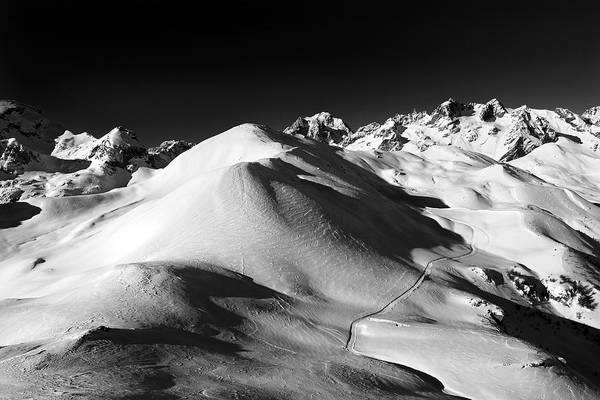 Photograph - Serre Chevalier In The French Alps by Pierre Leclerc Photography