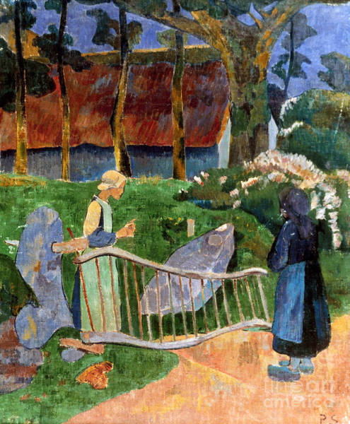 Photograph - Serusier: Barriere, 1889 by Granger