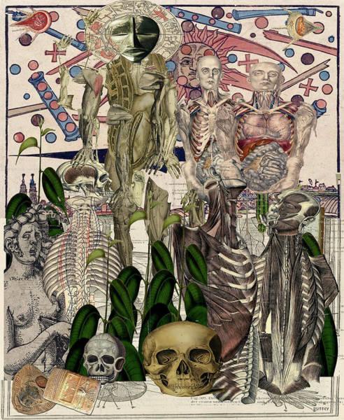 Digital Art - Servers Of Bones by Doug Duffey