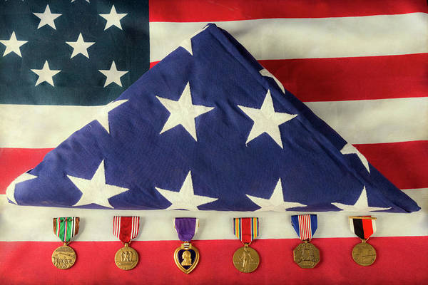Photograph - Service And Honor by James BO Insogna