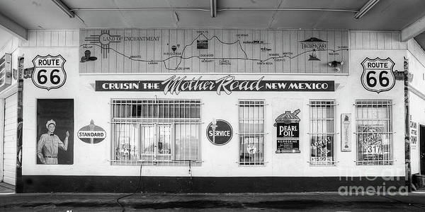 Wall Art - Photograph - Service Station Along Route 66 by Twenty Two North Photography