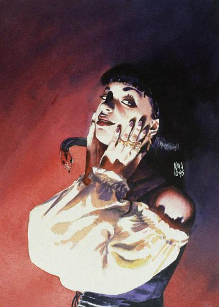 Drama Painting - Set by Ken Meyer