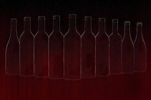 Liquid Digital Art - Set Of Ten by Art Spectrum