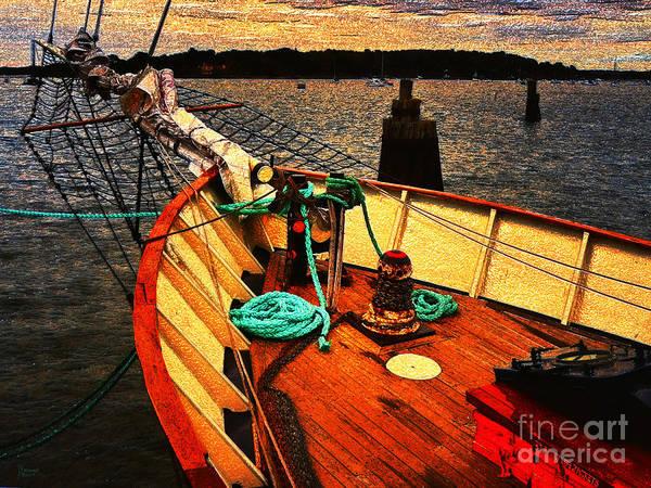Photograph - Set Sail by Jeff Breiman