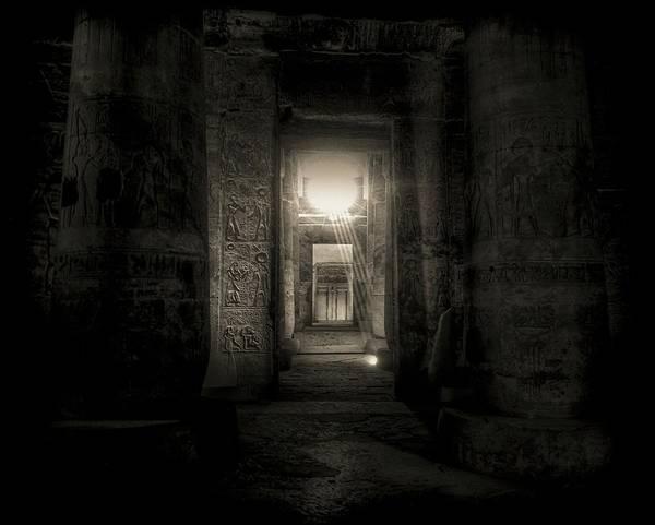 Photograph - Seti I Temple Abydos by Nigel Fletcher-Jones