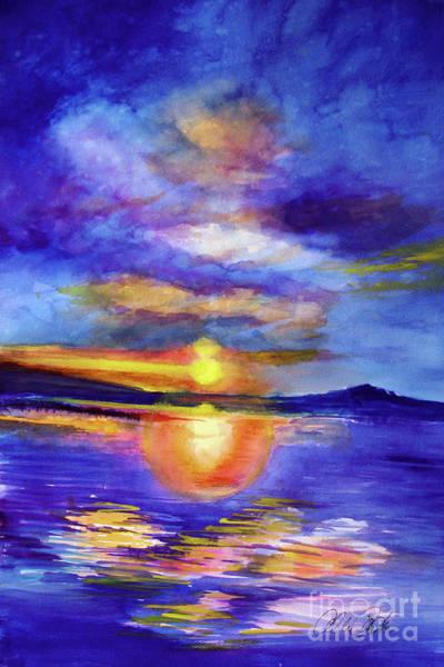 Painting - Setting by Allison Ashton