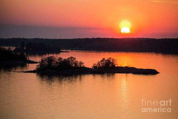 Wall Art - Photograph - Setting Sun Approaching Norway by Sheila Smart Fine Art Photography
