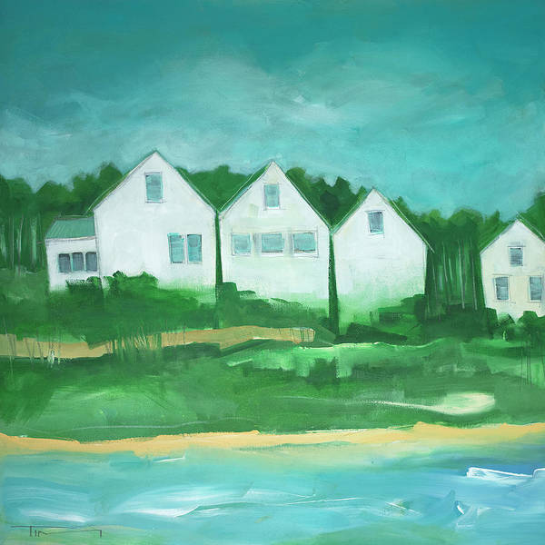 Painting - Settlement No. 2 Seaside by Tim Nyberg