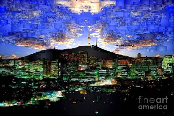 Digital Art - Seul Korea by Rafael Salazar