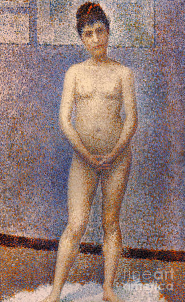 Photograph - Seurat: Model, C1887 by Granger