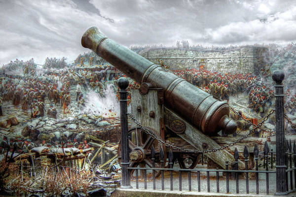 Digital Art - Sevastopol Cannon 1855 by Pennie McCracken