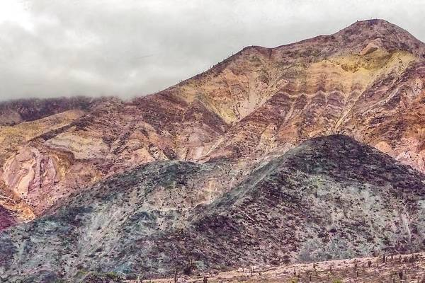 Photograph - Seven-color Mountain Argentina by NaturesPix