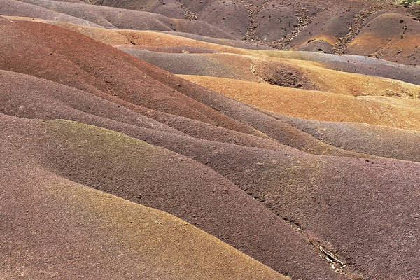 Photograph - Seven Coloured Earth by Tony Murtagh