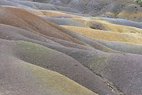 Photograph - Seven Coloured Earths by Tony Murtagh