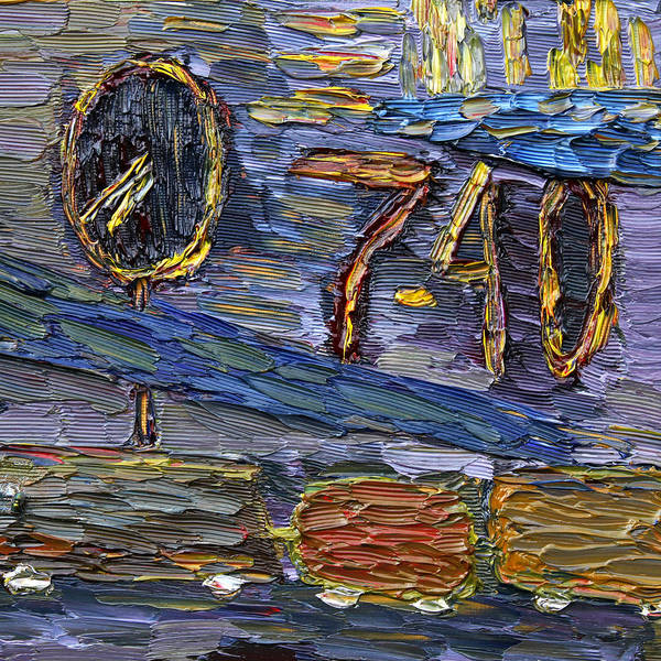 Forty Painting - Seven Forty by Vadim Levin