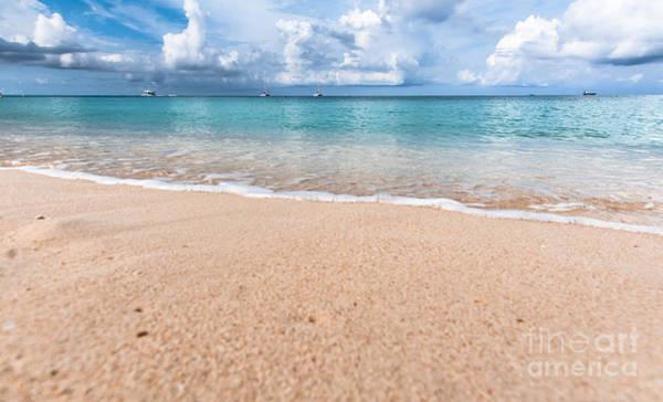 Dione Photograph - Seven Mile Beach by Dione Scotland Rivero