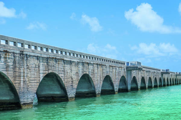 Wall Art - Photograph - Seven Mile Bridge, Key West by Art Spectrum