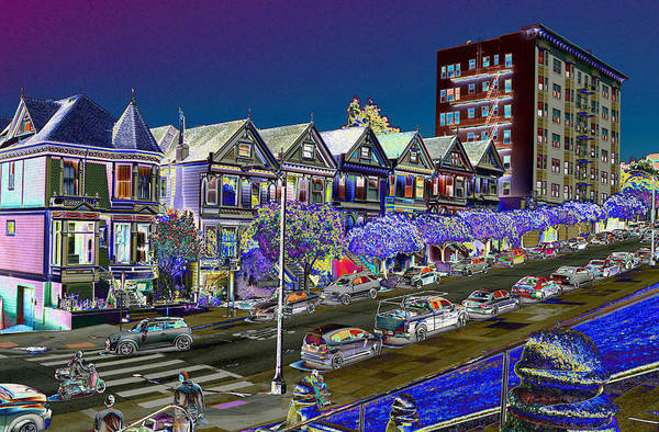 Seven Painted Ladies Art Print