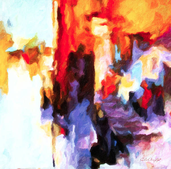 Painting - Seven Steps by Chris Armytage