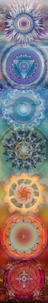 Sexuality Mixed Media - Seven, The Chakras by Brenda Erickson
