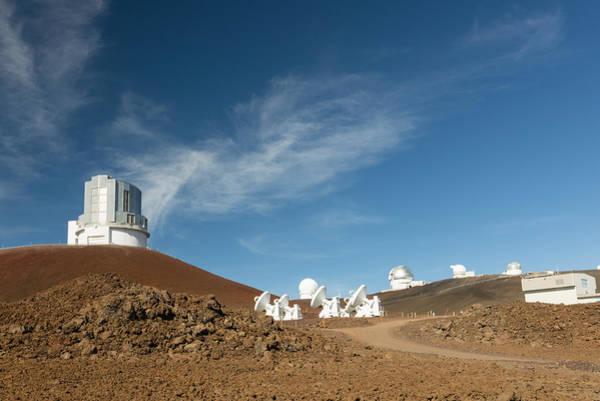 Photograph - Several Mauna Kea Observatories by Jim Thompson