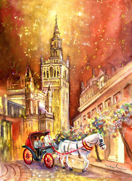 Painting - Sevilla Authentic by Miki De Goodaboom