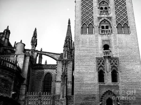 Catedral De Sevilla Wall Art - Photograph - Seville Cathedral Windows by John Rizzuto