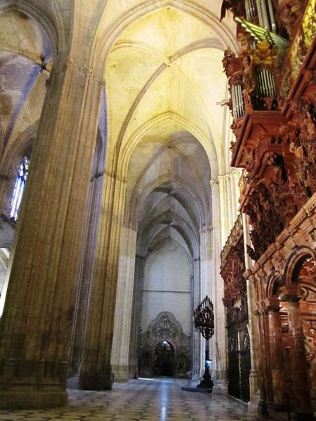 Photograph - Seville Cathedral X Spain by John Shiron