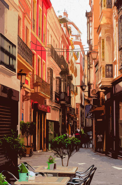 Seville, The Colorful Streets Of Spain - 02 Art Print
