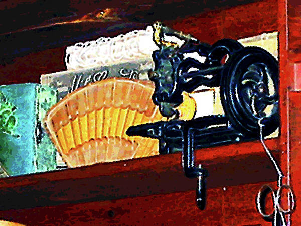 Photograph - Sewing Machine For Sale by Susan Savad