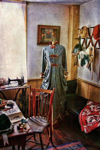 Dress Fitting Photograph - Sewing Room 1 by Cindi Ressler