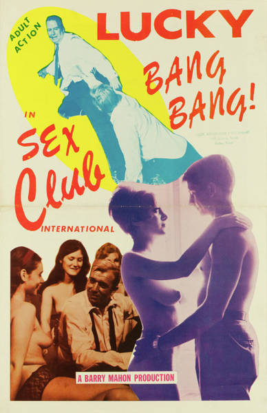 Burlesque Dancer Photograph - Sex Club International by Burlesque Posters