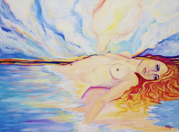 Wall Art - Painting - Sex On The Beach by Debi Starr