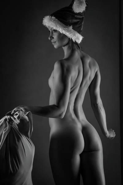 Wall Art - Photograph - Sexy Santa by Blue Muse Fine Art