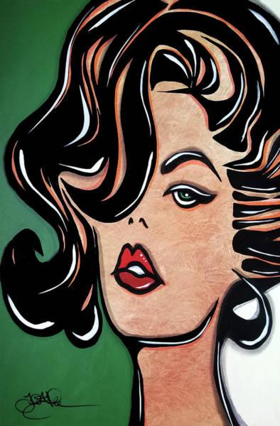 Wall Art - Painting - Sexy by Tom Fedro - Fidostudio