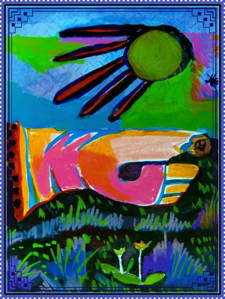Wall Art - Painting - Sgt Pepper Foot Massager by Mindy Newman