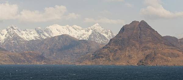 Photograph - Sgurr Na Stri And The Cuillin Ridge by Stephen Taylor