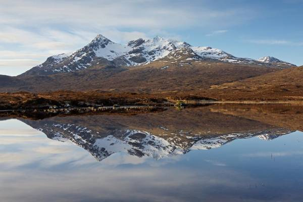 Photograph - Sgurr Nan Gillean Reflected by Stephen Taylor