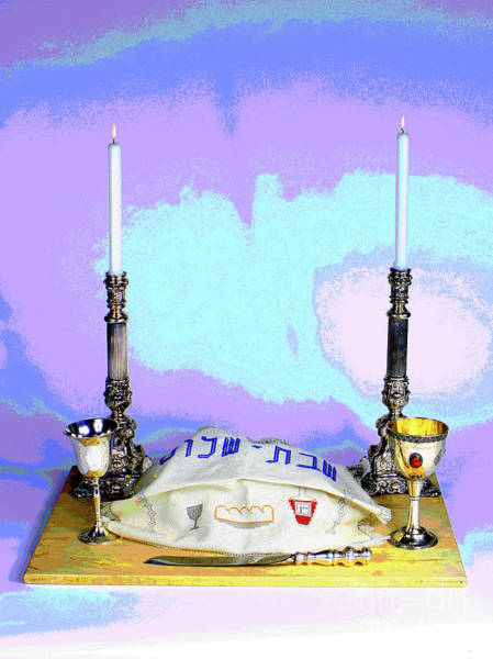 Photograph - Shabbos Challah  by Larry Oskin