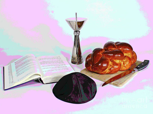 Photograph - Shabbos by Larry Oskin