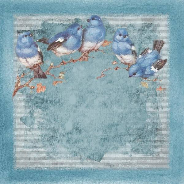 Photograph - Shabby Chic Birds Of A Feather by Shabby Chic and Vintage Art