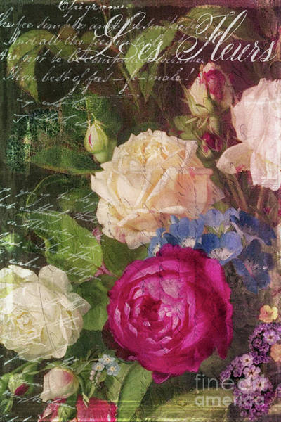 Wall Art - Painting - Shabby Garden by Mindy Sommers