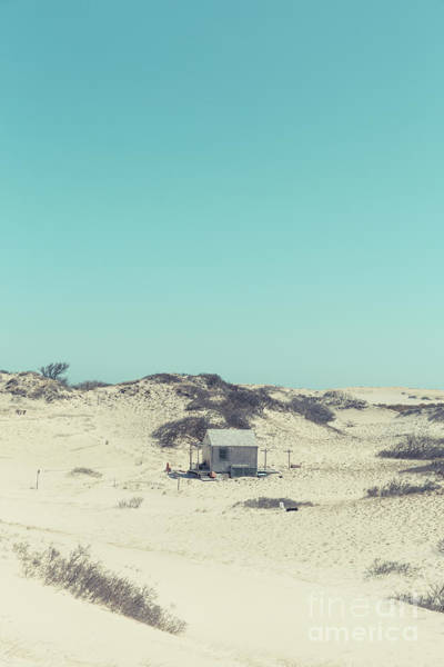 Photograph - Shack In The Sand Dunes by Edward Fielding