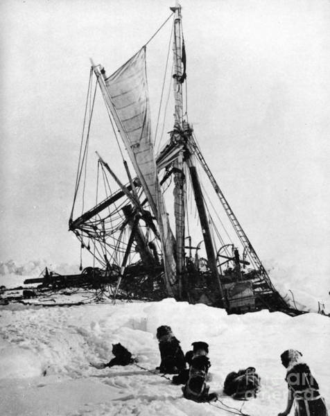 Antarctic Wall Art - Photograph - Shackletons Endurance by Granger
