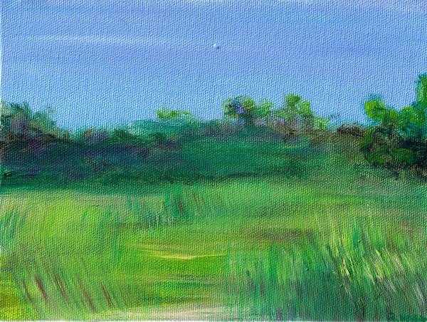 Painting - Shaded Meadow by Regina Valluzzi